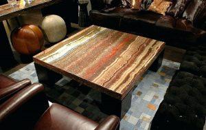 Элитная мебель из окаменелого дерева