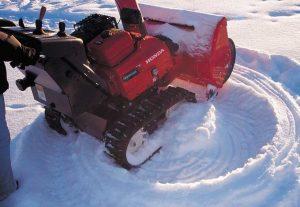 Выбор снегоуборщика по движителю
