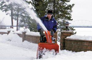 Выбор снегоуборщика по типам и брендам