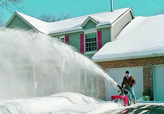 Выбор снегоуборщика по типу двигателя